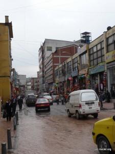 Traffic in Bogotá