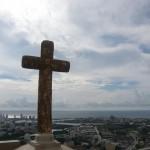 Conveto de la Popa. High over Cartagena.
