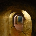 An old defense tunnel under the fortress.
