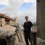 Me at the fortress I.