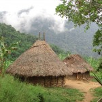 A typical hut of the Kogi.