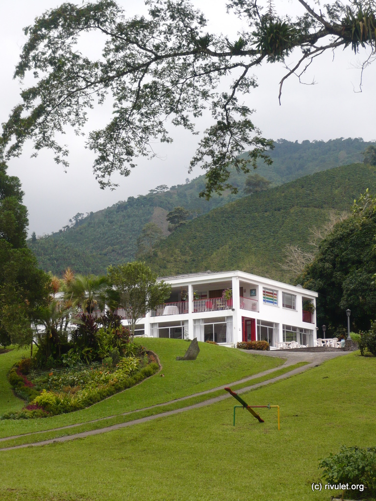 The beautiful located Hacienda Guayabal.