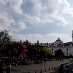 Beautiful plazas.