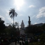 Palms, statues, churches.
