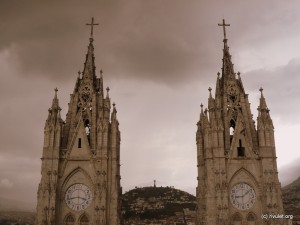 Basílica del Voto Nacional.