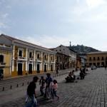 Big plazas.
