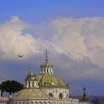 The domes of La Compania.
