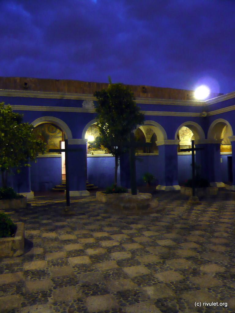 Inside the Monasterio de Santa Catalina.