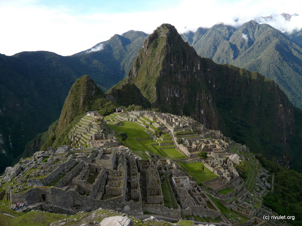 Machu Picchu in all it's glory.