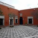 Patio of Casa Moral.