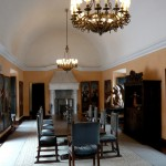 Dining room at Casa Moral.