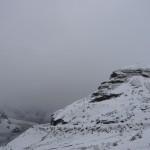 Landscape at the start of the Delirium trek.