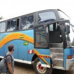 The bus back to La Paz.