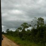 Dark clouds. More rain to come.