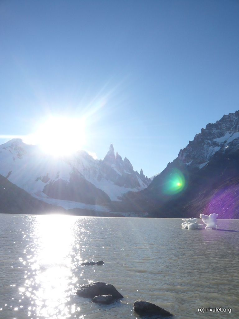 At the Laguna Torre.