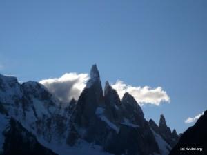 Close up of Cerro Torre.