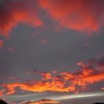 Sunrise, seen from Laguna Torre.