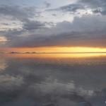 Sunset over the Salar I.