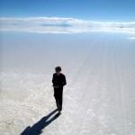 Leaving the amazing Salar de Uyuni...