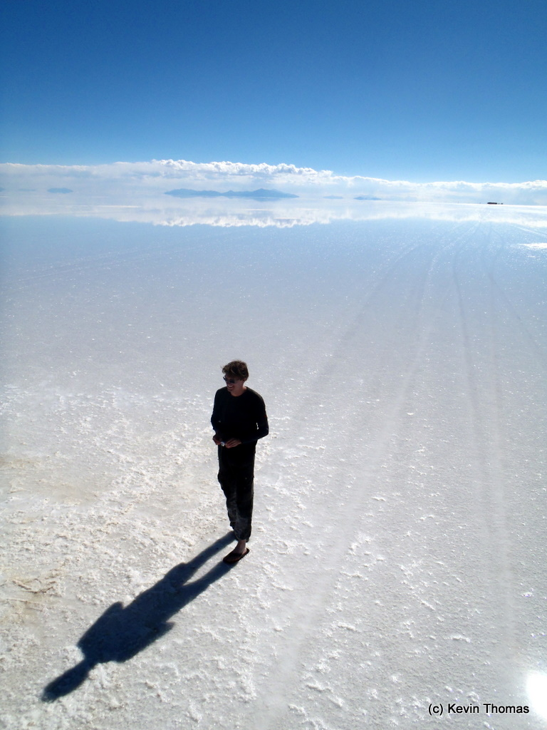 Leaving the amazing Salar de Uyuni...