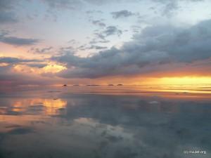 Sunset over the Salar IV.