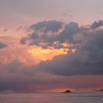 Sunset over the Salar V.