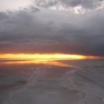 Sunset over the Salar VI.