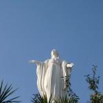 La Madre di Santiago on Cerro San Cristóbal.