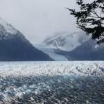 Small glacier on the side of glacier Grey.