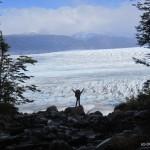 Me in front of Glacier Grey.
