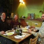 Late birthday dinner in Puerto Natales.