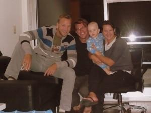 Family Erdmann and I.