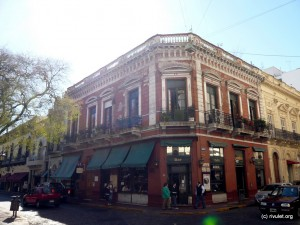 House at Plaza Dorrego.