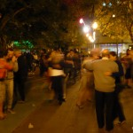 Tango on Plaza Dorrego.
