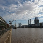 Puerto Madero at day.