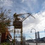 Old crane.
