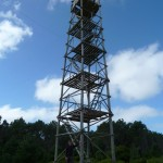Observation tower on the way.
