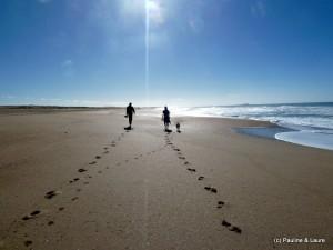 Cabo Polinio: A walk on the beach