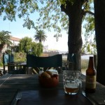 Lunch at the riverside.