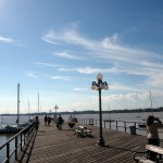 Pier at the yacht club.