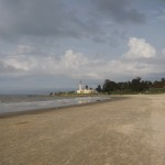 Beach side of Montevideo.