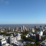 View of Montevideo from the top II.
