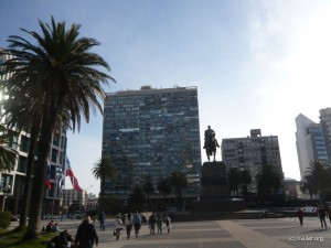Plaza Independencia.