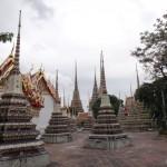 Inside the Wat Pho Temple.