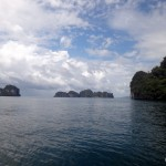 On the way to Hong Island.