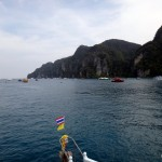 Next day: On the way to Phi Phi Leh.