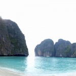 "Maya Bay (aka ""The Beach"")."