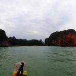 Approaching Phranang Beach
