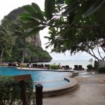 Pool at Railay West. I still don't understand the need of a pool when a beautiful beach is just 5 meters away.