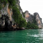 Kayak tour from Tonsai to Railay East and back (passing Phra Nang and Railay West).